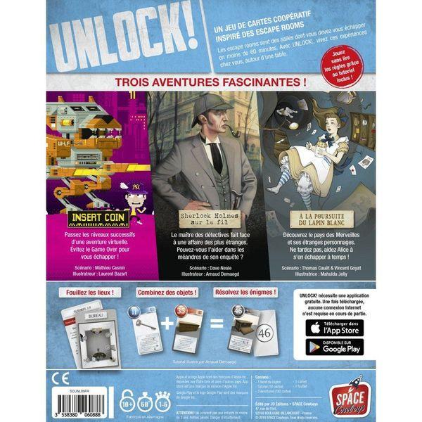 Unlock ! Heroic Adventures