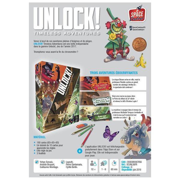 Unlock ! Timeless Adventures
