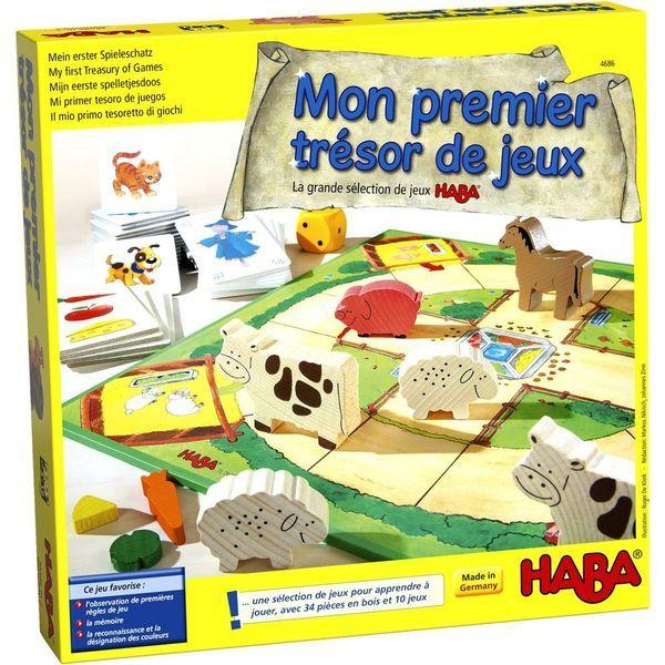 Mon premier trésor de jeux