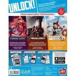 Unlock 3 ! Secret adventures